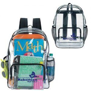 15763 – Clear Backpack