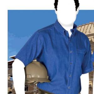 Camisa De Mezclilla Para Caballero C0600