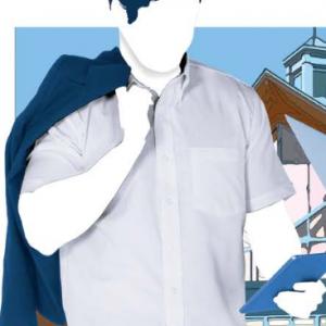 Camisa De Vestir De Caballero De Manga Corta Modelo C0604