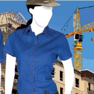 Camisa De Mezclilla Para Dama Estilo D0600