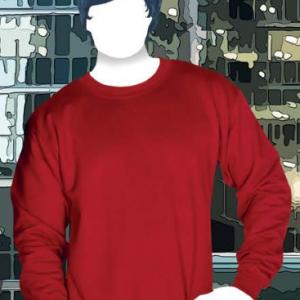 Sudadera Cuello Redondo Unisex Para Adulto Yazbek C0700