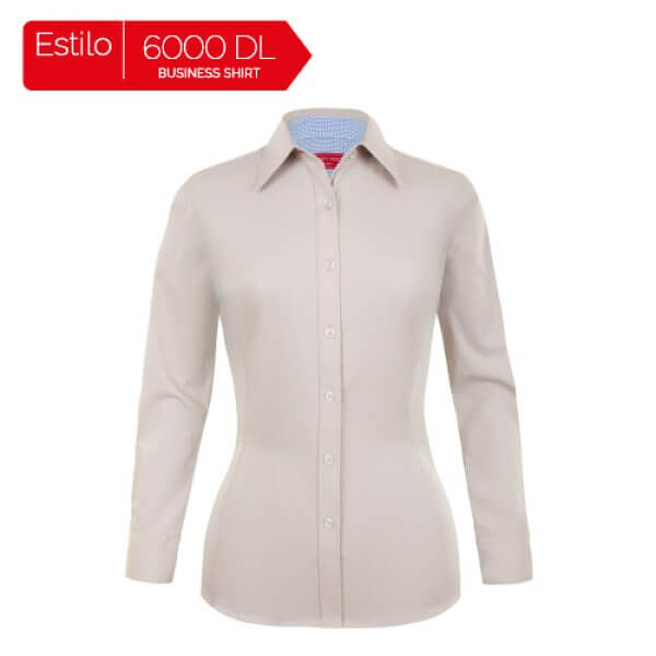 4fc523c40c Camisa de vestir de manga larga para dama 6000DL - Bordados Molto