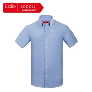 Camisa De Vestir De Manga Corta Para Caballero 6000C