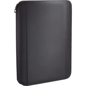 OF41001 CARPETA ELLEVEN ZIPPERED PADFOLIO NG