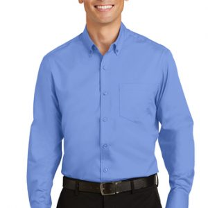 Camisa De Vestir  Para Caballero Port Authority S663 SuperPro