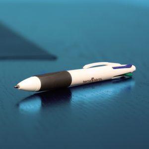 Bolígrafo De Plástico 4c #: 4c0-sol