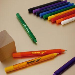 Bolígrafo De Plástico Epic Colors  #: Epc-trn